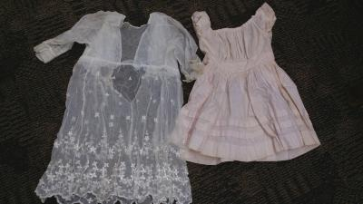 Early 1900's handmade dresses by Annie Tuckey